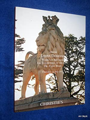 Lyons Demesne, Works of Art from the: Christie's, Christies
