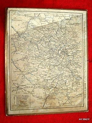 Almanach Des Postes et des Telegraphes, Calendrier, 1924. Avec Carte Postale Télé...