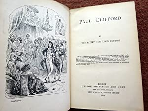 Paul Clifford. Lord Lytton's Works Series.: Lytton, Lord, The Right Hon.