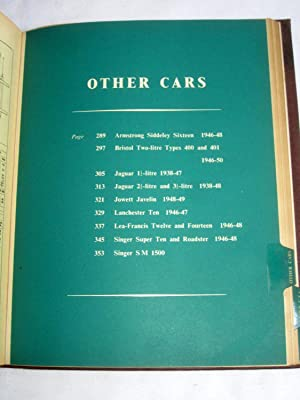 Servicing Guide to British Motor Vehicles, Volume 1 . Cars, Commercial Vehicles, Tractors. (...