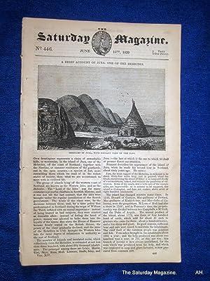 The Saturday Magazine No 446, JURA,Hebrides,PAPS,Sheelims,1839 + PALMYRA: John William Parker, ...