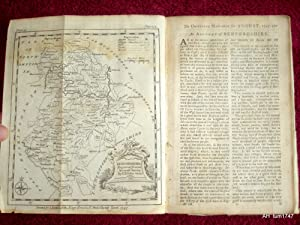 The Universal Magazine of Knowledge and Pleasure, August 1747.:(inc Map of Bedfordshire, Plates of ...