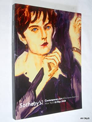Contemporary Art Afternoon Auction. 15 May 2008, N08442, Sotheby's New York Auction Catalogue....