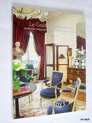 Le Gout de L'Antique Collection D'un Amateur. 18 Juin 2008. PF8028. Sotheby's Paris ...
