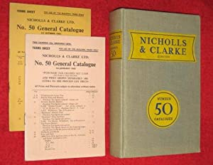 Nicholls and Clarke Ltd Catalogue 50: Manufacturers and Distributors of Building Materials + ...