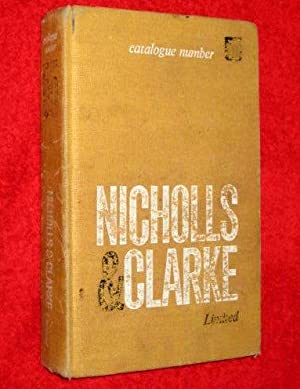 Nicholls and Clarke Ltd Catalogue 55 Manufacturers and Distributors of Building Materials 1966: ...