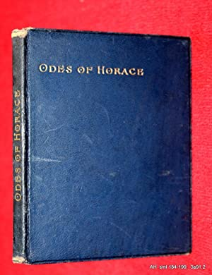 Odes of Horace. The Broadway Booklets Series.: Horace. Quintus Horatius Flaccus