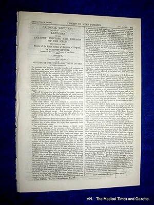 The Medical Times and Gazette. 10 November 1855, No. 841.: Various.