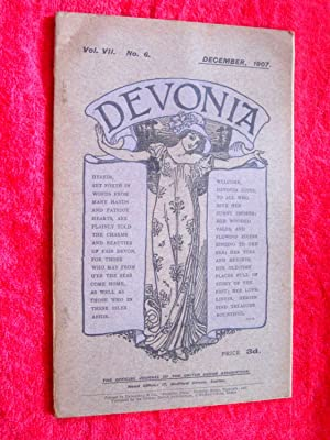 Devonia. The Official Organ of the United Devon Association. December 1907. Journal Vol VII No 6. +...