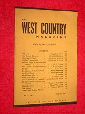 The West Country Magazine No.2, Vol.1. Autumn: Elwin, Malcolm.