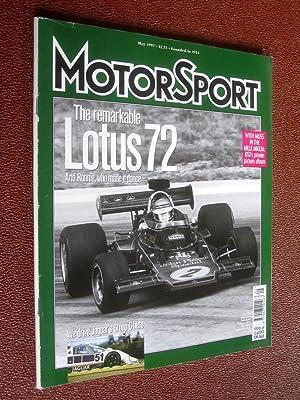"""MotorSport Magazine, May 1997, Lotus 72. """""""