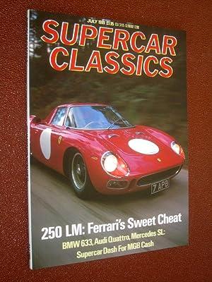 Supercar Classics, Magazine July 1989. (includes Ferrari