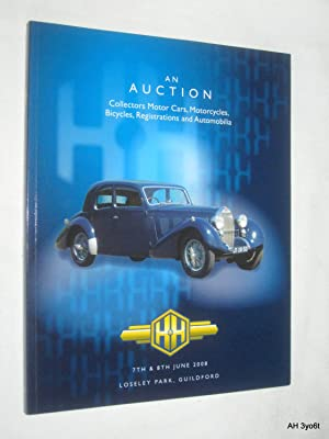 An Auction of Collectors Motor Cars, Motorcycles,: H&H Classic Auctions