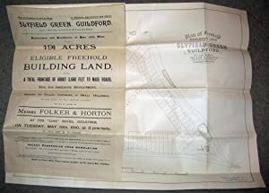 SLYFIELD GREEN, near Guildford, Surrey, 1910 Freehold Building Land Development Folker & Horton...