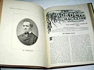 The Border Magazine, An Illustrated Monthly, Volume XVI, 1911 January to December, Devoted to ...