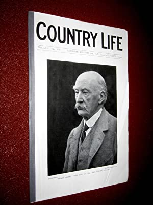 Country Life. No 1618, 21 January 1928, Thomas Hardy, Claremont Surrey, Forteviot Village ...