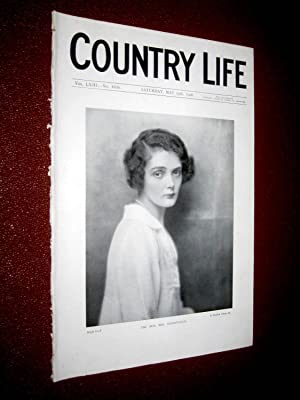 Country Life. No 1635, 19 May 1928, Hon Mrs Harrmsworth, Queen's College Oxford, Horatio ...