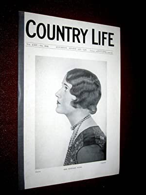 Country Life Magazine. No 1649, 25 August 1928, Rosemary Ryder, Weston Manor Oxfordshire, The ...