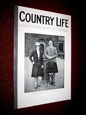 Country Life. No 1651 8th September 1928, March at Gordon Castle, Outbuildings at Barrington Court ...