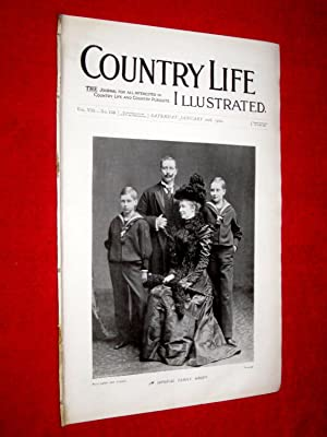 Country Life. No. 159, 20th January 1900. Imperial Family Group, Shirburn Castle Wallingford, ...