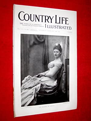 Country Life. No. 162, 10th February 1900. The Duchess of Albany, Guy's Cliff Warwick, ...