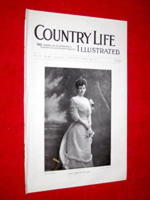 Country Life. No. 167, 17th March 1900. Lady Arthur Butler, Ightam Mote, Shetland Islands (pt 3), ...