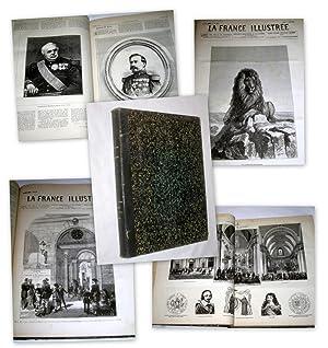 La France Illustree. Huitieme Annee No 318 de 1er Janvier a No 343 de 25 Juin 1881. Journal ...