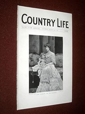 Country Life Magazine No. 480, 17th March 1906. Lady Falmouth & Daughter, Villa Torlonia ...