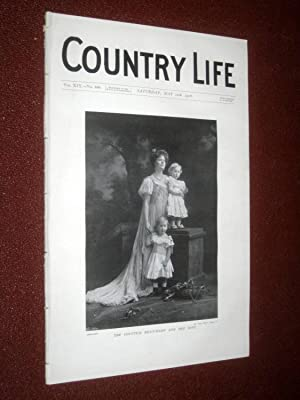 Country Life Magazine. No. 488, 12th May 1906. The Countess Beauchamp & Sons, East Sutton Park ...