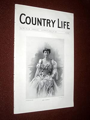 Country Life Magazine. No. 496, 7th July 1906. Mrs Sitwell, Hill Hall Essex, Hierapolis, Maiden ...