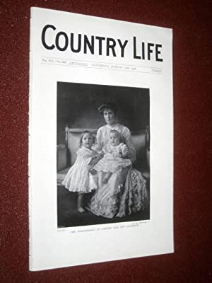Country Life Magazine. No. 503, 25th August 1906. Marchioness of Exeter, Woollas Hall Worcs, All ...