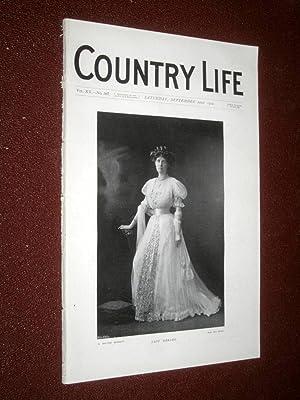 Country Life Magazine. No. 507, 22nd September 1906. Lady Gerard, Prinknash Park Glos, Chamois ...