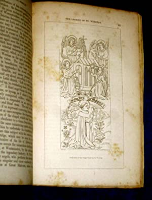 The Archaeological Journal March 1845, inc Tong Church, Salop., Great Seal of Edward III, Saint ...