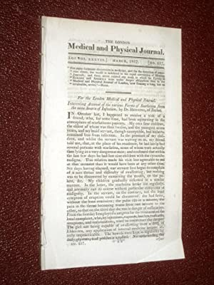 The London Medical and Physical Journal, 1817,: Various