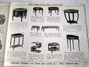 Chippendale's Workshops, Direct from the Workshops to You, ( Furniture Catalogue.): ...