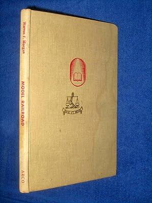 Model Railroad Book. Arco Handi-Books for Better Living. Fawcett Book 208.: Morgan, Warren F.