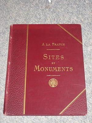 A LA FRANCE. SITES et MONUMENTS. POITOU, Deux-Sèvres, Vendée, Vienne.: RECLUS, ...