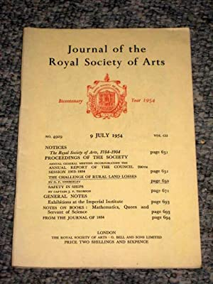 Journal of the Royal Society of Arts: Royal Society of