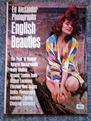A Whitestone Book 55. ED ALEXANDER PHOTOGRAPHS ENGLISH BEAUTIES: Alexander, Ed