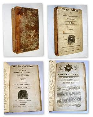 Seren Gomer neu Gyfrwng Gwybodaeth Cyffredinol, Am y Flwyddyn. 1818 & 1819, Nos 5,7,8,9, 11 to ...