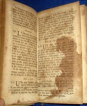Saggio Intorno alle Malattie, (1771) + Della Salute de Letterati (1773) + Sopra L'Inutilita ...