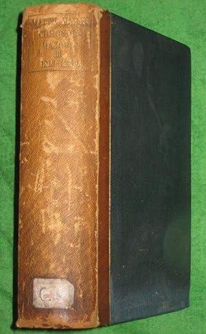 Matthaei Parisiensis, Monachi Sancti Albani. Chronica Majora. Chronicles and Memorials of Great ...