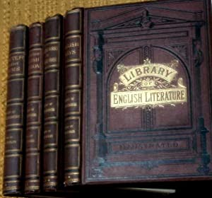 Cassell's Library of English Literature. 4 Matching Volumes (offered individually). Shorter ...