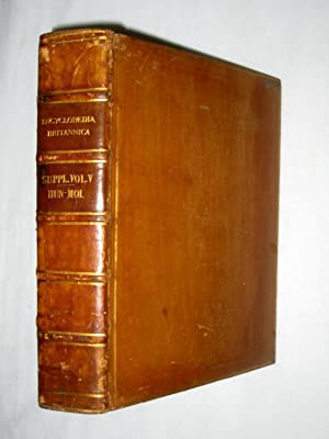 Supplement to Fourth Fifth and Sixth Edition Encyclopaedia Britannica, Volume Fifth. HUN - MOL, ...