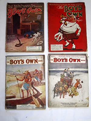 The Boy's Own Paper, 1919, Monthly Magazine, January, February, March, April, May, June, July,...