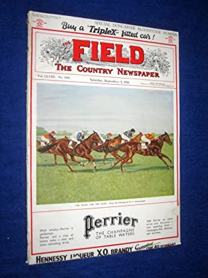 The Field, The Country Newspaper, 5 Sept 1931, Magazine, Special Doncaster Bloodstock Number, (inc ...