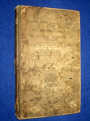 Memoirs of the Geological Survey, Scotland. The Economic Geology of the Central Coalfield of ...