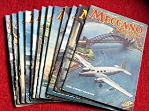 Meccano Magazine. 1949 Complete Year. January to December. 12 Original Issues.: Meccano