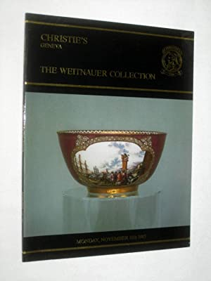 The Weitnauer Collection of European Porcelain, Monday, November 11th 1985, Christie's Geneva ...