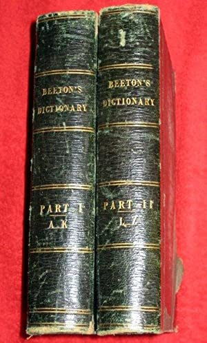 Beeton's Dictionary of Universal Information; Comprising Geography, History, Biography, ...